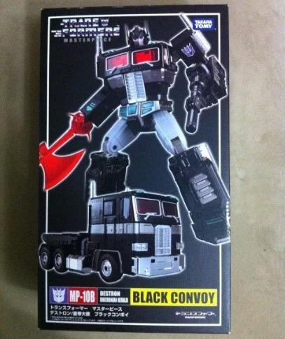mp 10b masterpiece convoy optimus prime black version nemesis prime