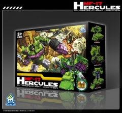 MechFansToys MF-17 Hercules (Green Version)- Set of 6 Figures