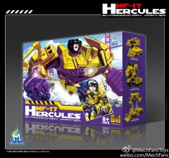MechFansToys MF-17 Hercules (Yellow Version)- Set of 6 Figures
