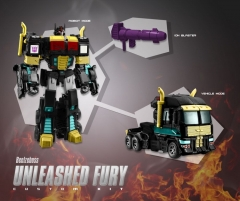 BLZ-08U BEELZEBOSS - UNLEASHED FURY CUSTOM KIT