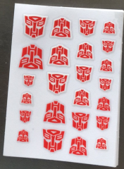 Decal stick for Autobot