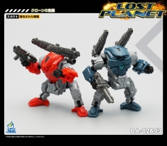 MechFansToys Lost Planet Powered-suit DA02 & DA03 set