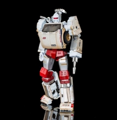 MASTERMIND CREATIONS Ocular Max White Robot PS-06O MMC 2017 Limited Edition Offroad