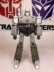 MP-36 MASTERPIECE MEGATRON re-paint in Silver