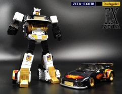 Zeta Toys - EX-03B Jazzy - Black Version