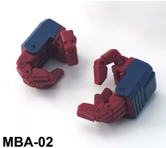 FansHobby - Power Baser - MBA-02 Articulated hands for MB-06