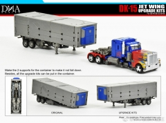 DNA DESIGN DK-15 STUDIO SERIES OPTIMUS PRIME UPGRADE KIT DELUXE VER.